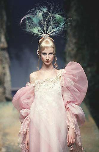 Christian Lacroix, Fashion, Catwalk, Designer, Garment, Runway, Esther de Jonc, 1998 january