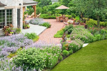 french country landscape designs | French Country Garden - traditional - landscape - chicago - by K ...