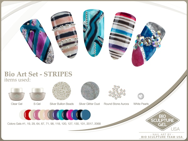 Stripes Art Set