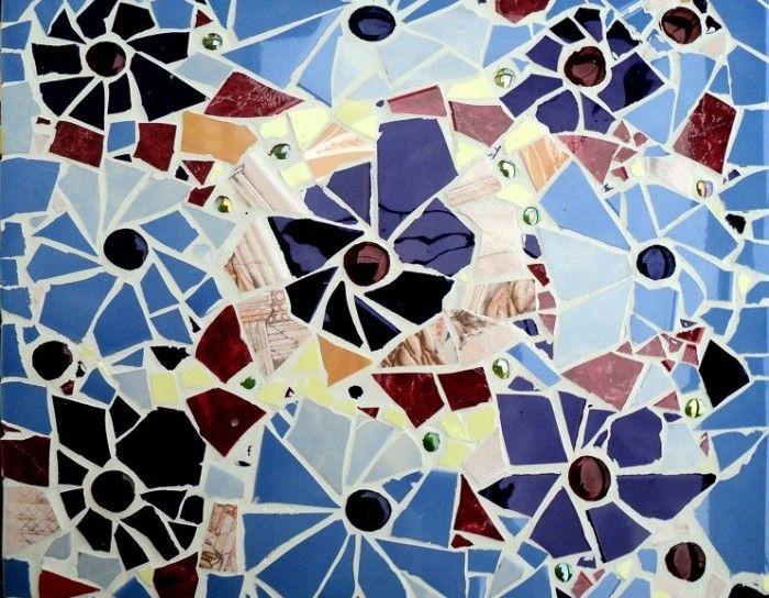 Мозаика из битой плитки – своими руками дизайн и облицовка + видео