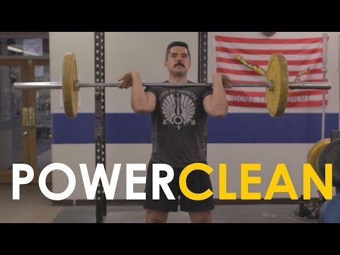 Great information on how to perfect your Power Clean technique ▶ How to Power Clean with Mark Rippetoe | The Art of Manliness - YouTube