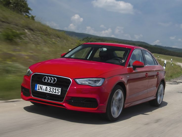 2013 Audi A3 Saloon car front
