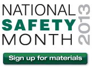 "This year's National Safety Month theme is ""Safety Starts with Me."" While leadership from the top is important, creating a culture where there is a sense of ownership of safety by all makes everyone a safety leader. Learn how you can make a difference and share this information! #NSM2013"