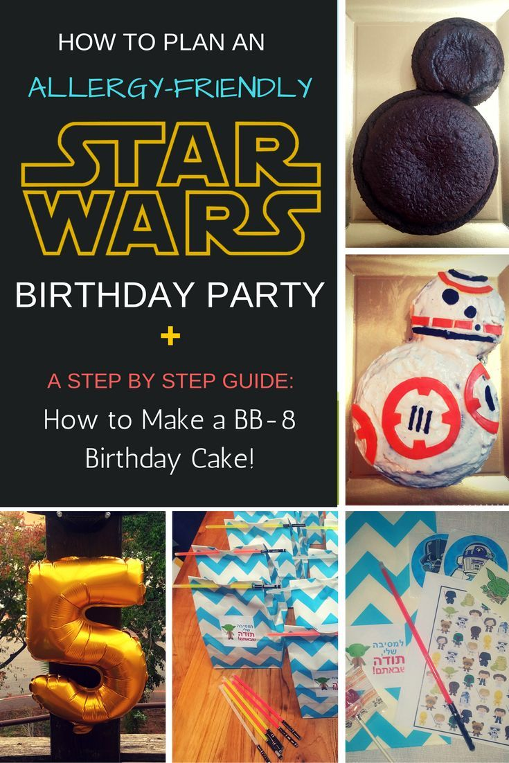 267 best food allergy awareness resources images on pinterest planning an allergy friendly star wars birthday party for complete how to steps forumfinder Images