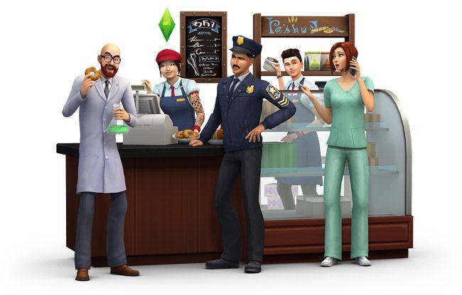 The Sims 4 Get To Work - EB Games Australia