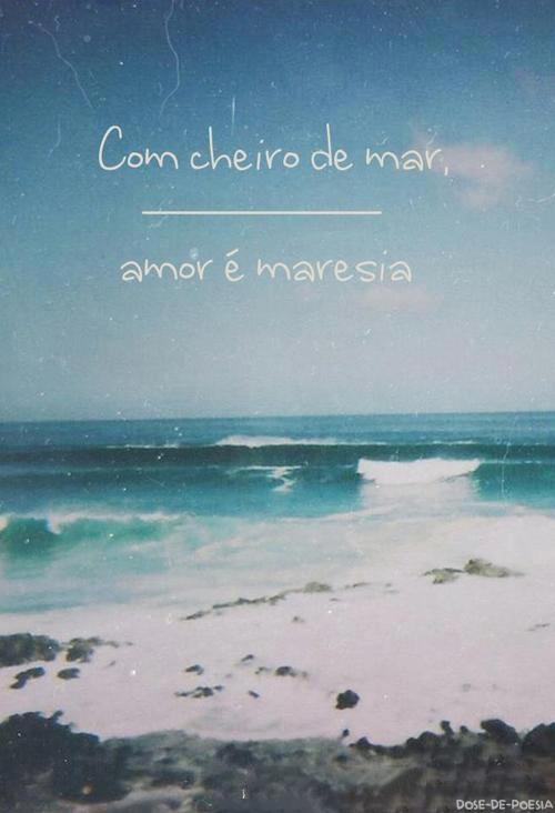 Amor é Maresia...