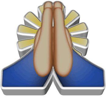 Praying Emoji - Emoji World