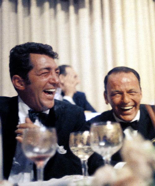 Wish I could go to dinner with Dean and Frank.  I bet they had a good time.
