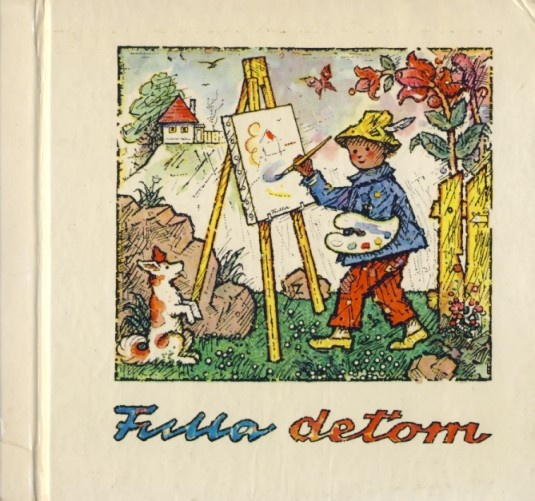 L.Fulla,Slovak painter and illustrator.Children's book illustration,book-L.Fulla for children.L.Fulla-Slovak painter and illustrator, (February 27, 1902, Ružomberok – April 21, 1980, Bratislava)