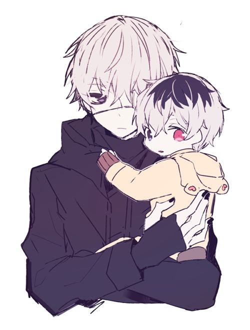Tokyo Ghoul: Kaneki and lil Haise
