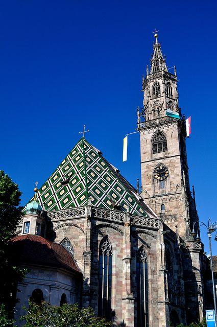 Duomo di Santa Maria Assunta, Bolzano, province of South Tyrol, region of Trentino-Alto Adige, Italy