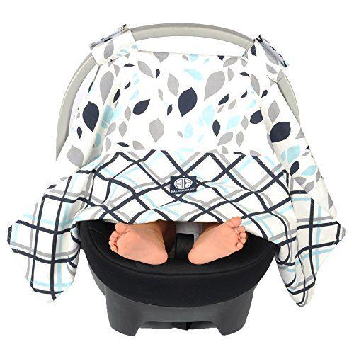 Balboa Baby Car Seat Canopy Black Lattice