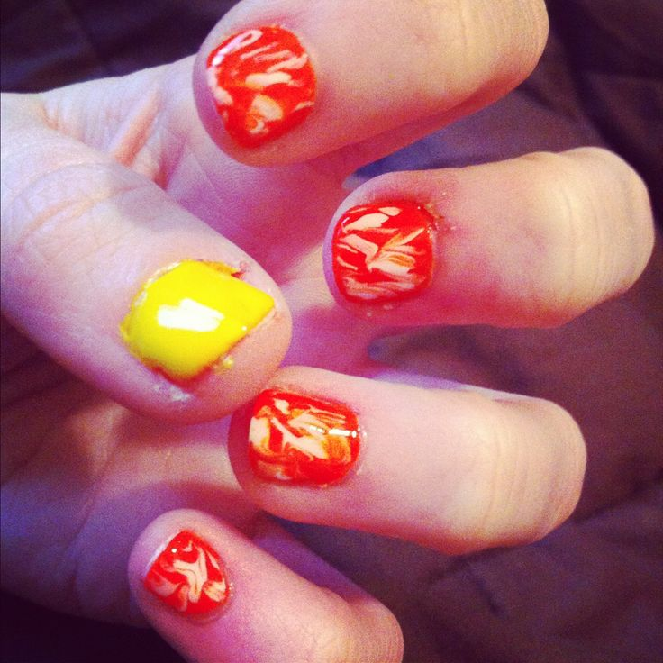 Summer Swirly Nails!