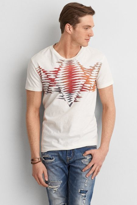 American Eagle Outfitters AEO Southwestern Graphic Crew T-Shirt | AMERICAN EAGLE saved by #ShoppingIS