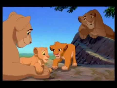 The Lion King - Bath Time (German) - YouTube