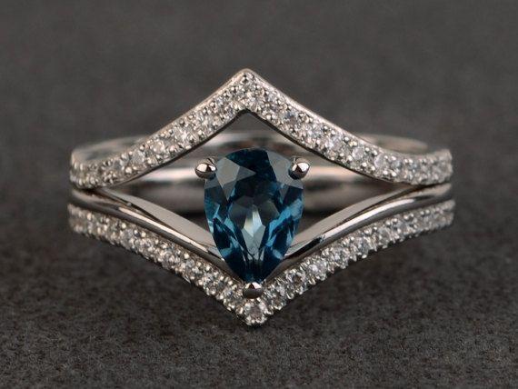 Die besten 25 birnen ring ideen auf pinterest birnen - Verlobungsring blau ...