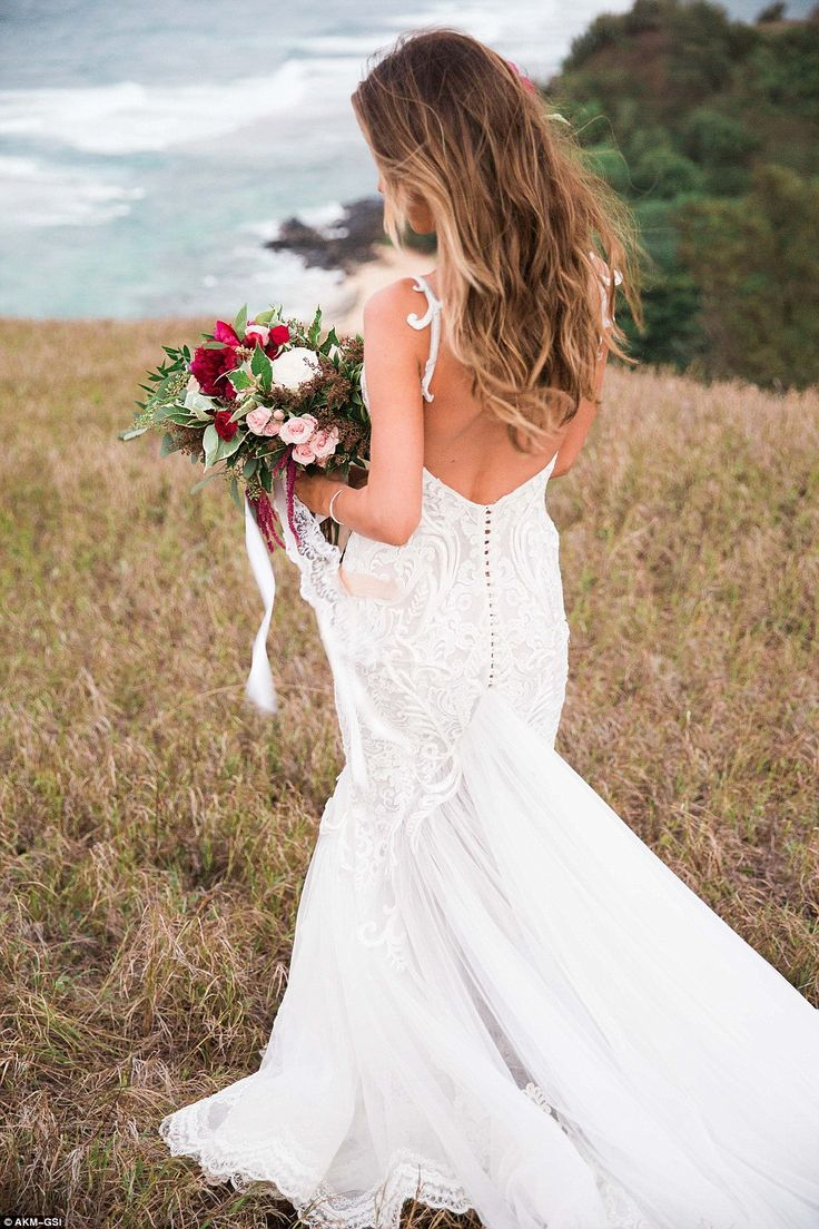 Ginger zee wedding dress   best LOCKS images on Pinterest  Make up looks Fringes and Hair