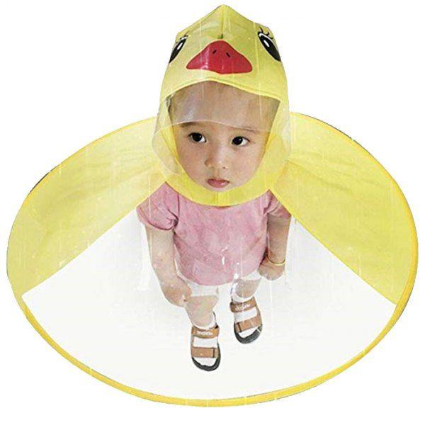 Creative Little Yellow Duck Raincoat Toy Great Gift For Children Yellow S Mobile Raincoat Kids Childrens Rain Coats Kids Rain