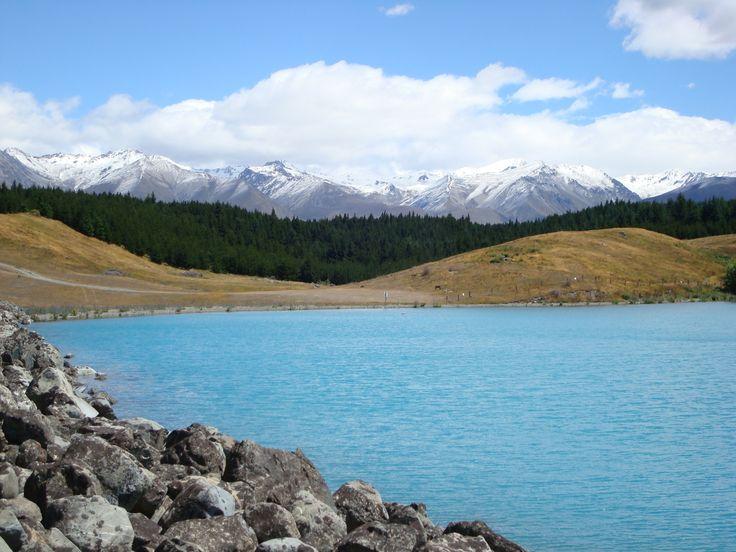 lake Benmore south Island New Zealand By www.silberhorn.co.nz