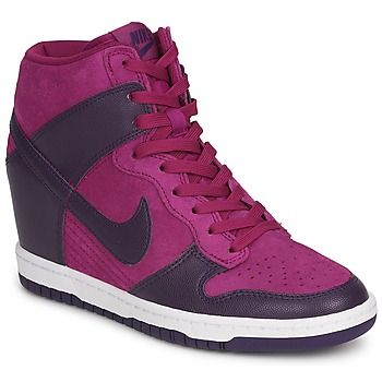 Sneakers Nike Dunk con zeppa su Spartoo.it