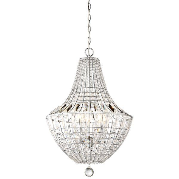 House of Hampton Needham Market 5-Light Crystal Chandelier & Reviews | Wayfair