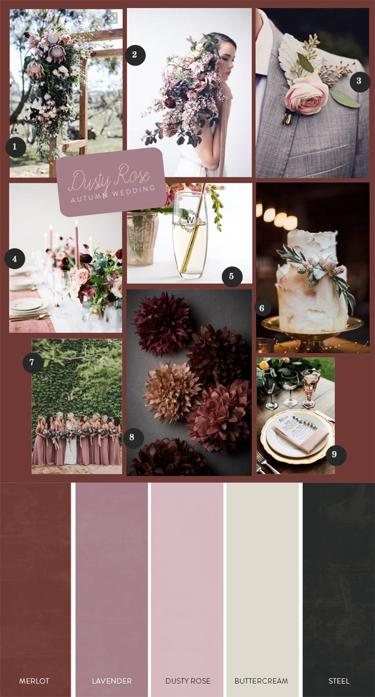 With autumn comes the opportunity for a dusty rose autumn wedding that is the perfect mix of feminine and wistful. | A Dusty Rose Autumn Wedding | My Wedding Favors