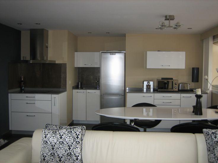 Reforma completa de cocina cocina integrada en sal n con - Muebles de cocina en palma de mallorca ...