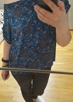 Kup mój przedmiot na #vintedpl http://www.vinted.pl/damska-odziez/koszulki-z-krotkim-rekawem-t-shirty/17562624-bluzka-promod-t-shirt-print-floral-kwiaty-wzor-oversize