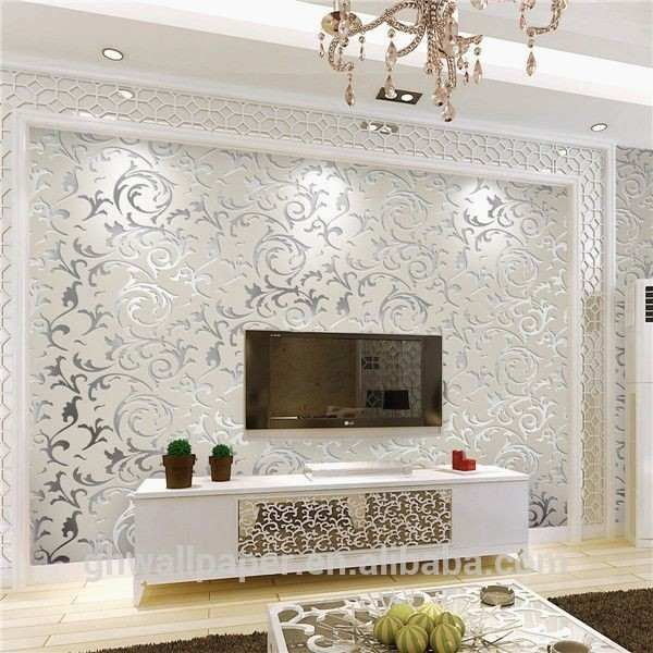 Half Wall Tiles For Living Room Inspirational Wallpaper Ideas Kitchen Floor Tile Designs K Wall Decor Bedroom Wallpaper Living Room Interior Design Living Room