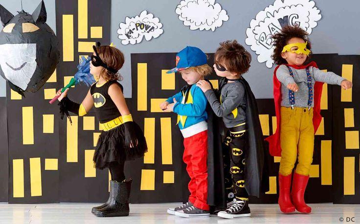 Comment organiser une fête d'anniversaire sur le thème des super héros - Articles - Family LEGO.com