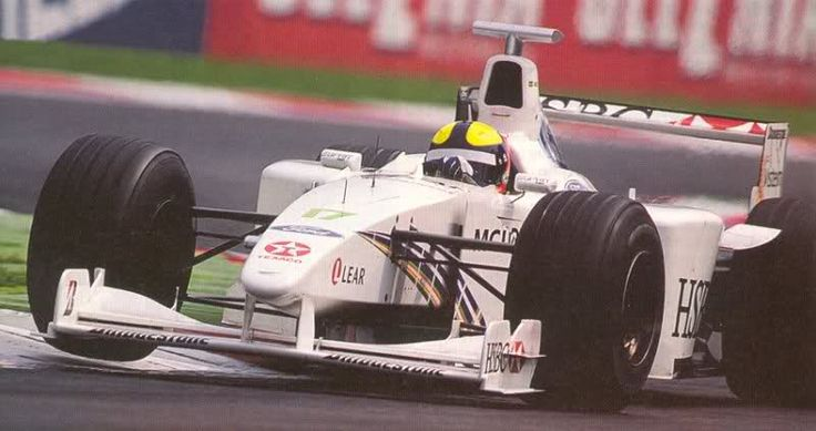 1999 Stewart - Ford (Luciano Burti test)