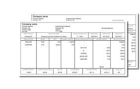 Image result for printable  pay statements for retail workers