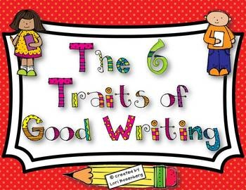 $ - These 6 Traits Posters are bright and beautiful and will definitely catch the eye of your budding writers! Each trait is specifically described and...