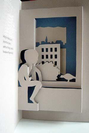 Libros Pop-Up Books Cards: Historia Poema ilustrado con hermosas Tarjetas Pop-Up