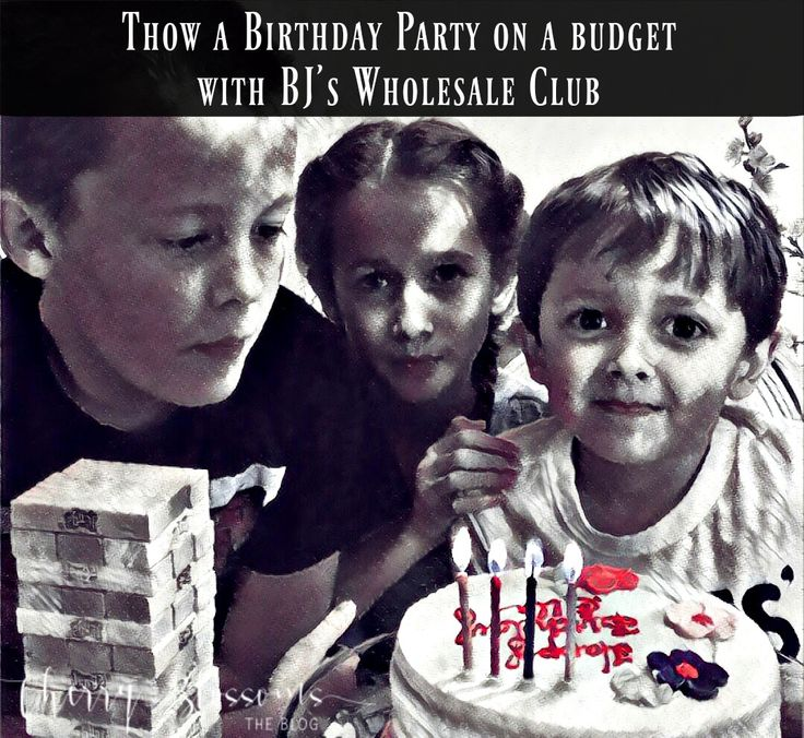 Throw a Birthday Party on a Budget - Cherry Blossoms The Blog #shoptheclub
