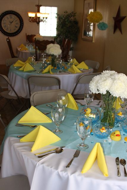 """Photo 4 of 22: Rubber Ducks / Baby Shower/Sip & See """"Mel's Baby Shower""""   Catch My Party"""