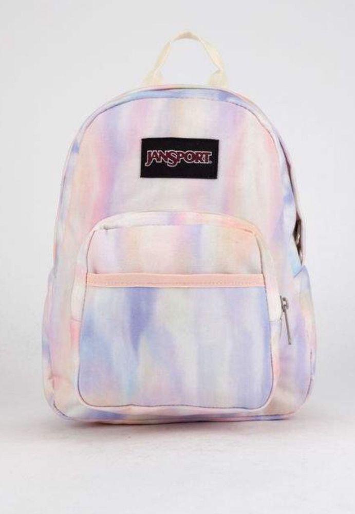 959eb6cfe53d Jansport Half Pint Mini Backpack Sun Kissed Pastel Bookbag New  JanSport   MiniBackpack