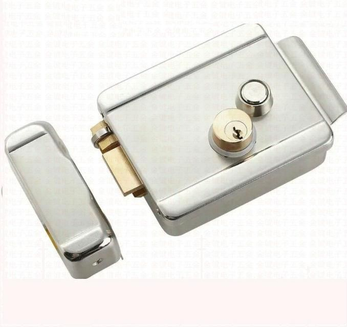 Brand New 12vdc Electric Control Door Lock For Access Control And Video Intercom In Stock Wholesale Access Control Access Control System Magnetic Door Lock