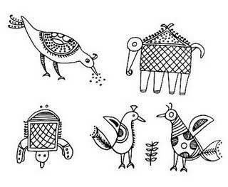 Indian folk art
