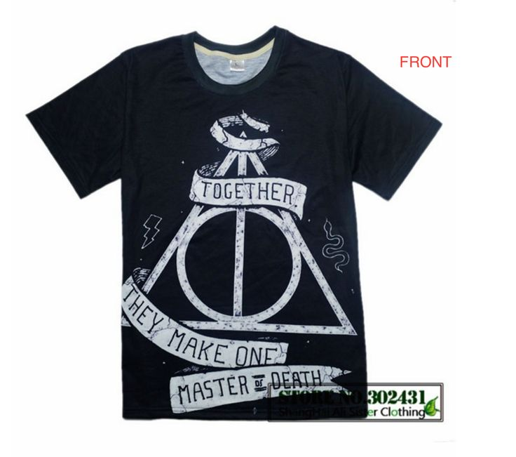 Deathly Hallows - Together They Make One T-shirt