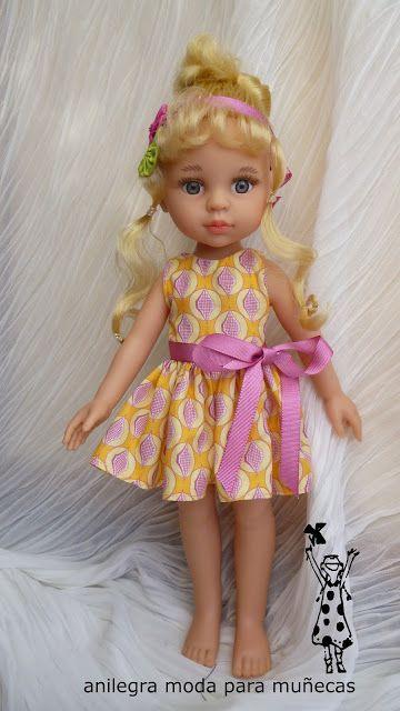 Vestido para Paola Reina , Lesly , o muñeca similar