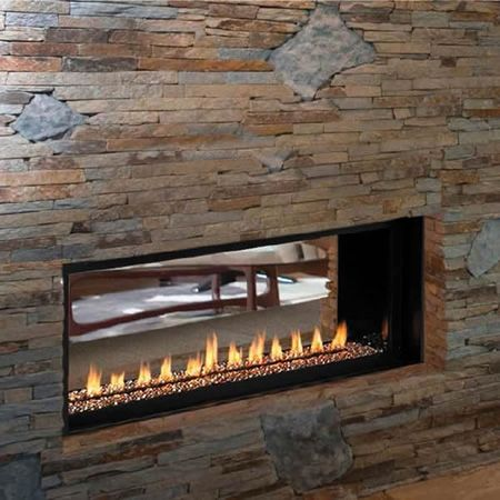 ventless gas fireplace reviews lights natural heater with blower logs remote control
