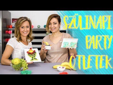 (146) Aranyló Kékes-zöld szendvics??? Szülinapi party ötletek Smarta-val | CSORBA ANITA - YouTube