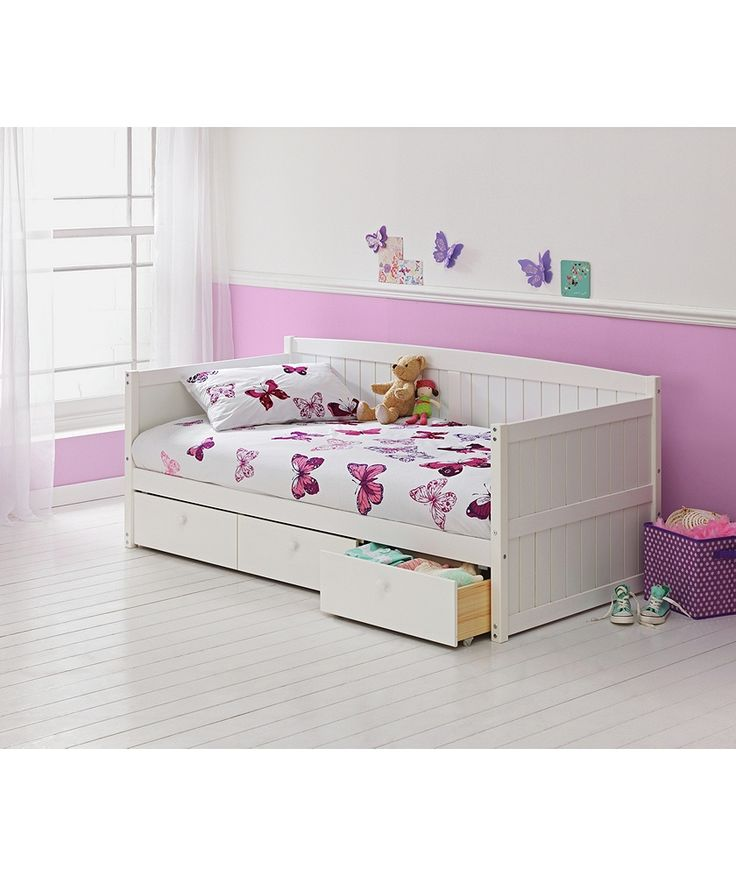 Buy Marnie Single Day Bed Frame - White at Argos.co.uk - Your Online Shop for Children's beds, Children's beds, Children's beds, Children's beds.