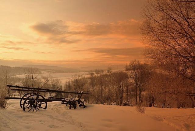 Magoda Chalet. Bieszczady Mountains, Poland.