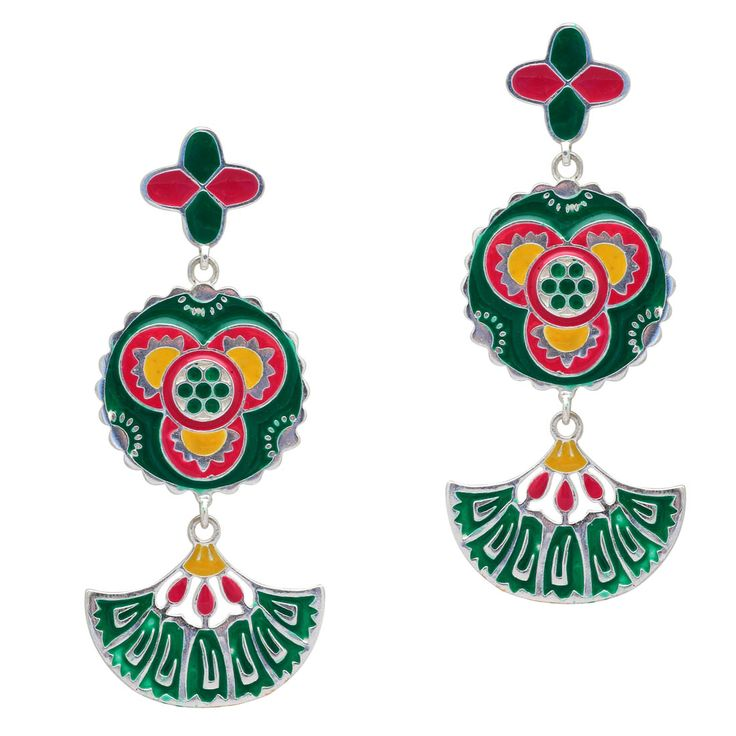 Silver Plated Multi Color Traditional Meenakari Earrings, earrings for girls, earrings for women, clip on earrings, stud earrings for women, fashion earrings online, artificial earrings online, silver hoop earrings, earrings online shopping, buy earrings online, jhumka earrings online shopping, artificial earrings online shopping, artificial earrings with price, traditional earrings online, artificial jewellery sets, earrings for sale, teardrop earrings, earrings online shopping at low…