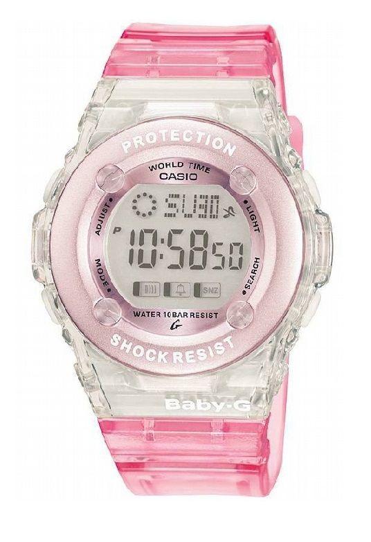 Casio Baby-G BG-1302-4ER Ladies Pink Digital watch #Casio #Pink #Watch #BabyG #CasioWatch #BabyGWatch