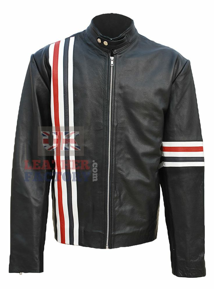 Captain America Peter Fonda Leather jacket for sober men for the special timeless impression -- Create hero's comeback and plan a reunion and be remembered as Peter Fonda. Ride and experience the beautiful countryside and capture the moments with a legend's pride in real leather.