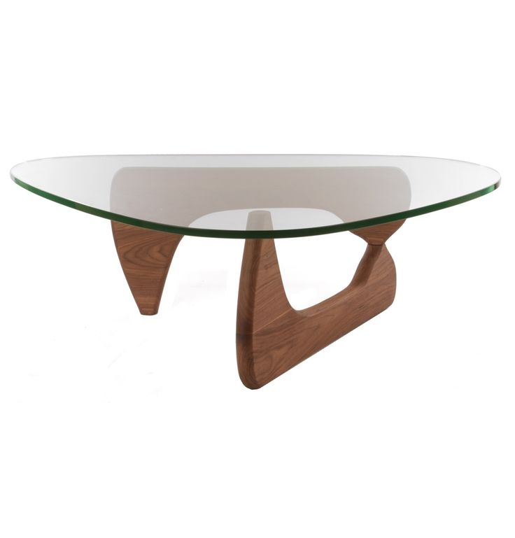 Replica Isamu Noguchi Coffee Table (American Walnut) - Premium Version by Isamu Noguchi - Matt Blatt