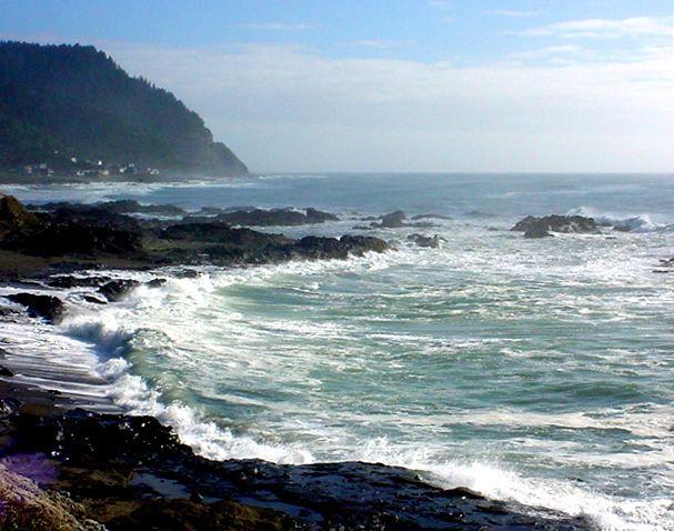 yachats oregon coast   Yachats, OR : Cape Perpetua, Yachats, Oregon Coast